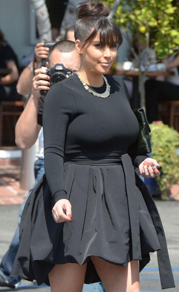 Kim Kardashian 2013 pregnant