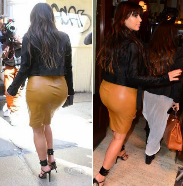 Kim Kardashian Ass pregnant