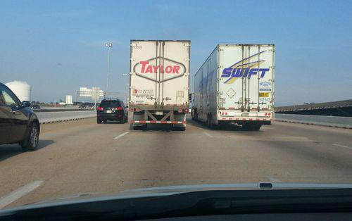 Taylor Swift Lorries
