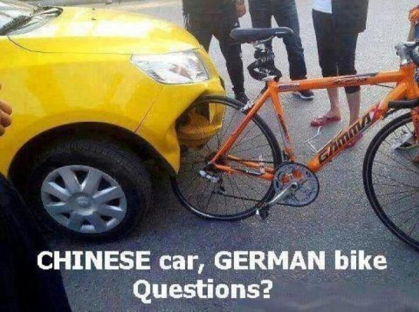 Chinese Car German Bike
