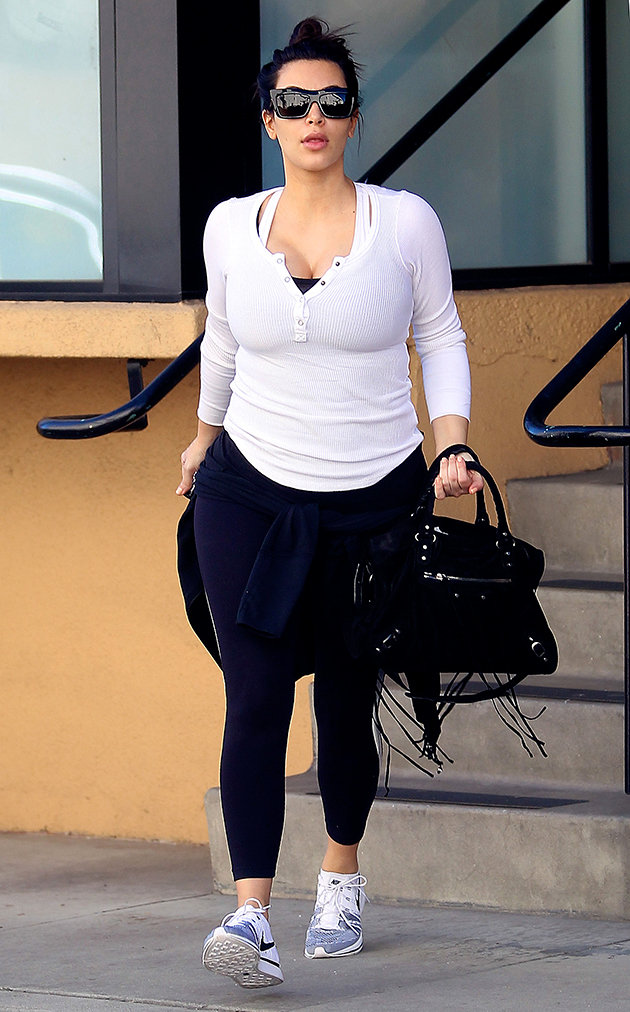 Kim Kardashian Weight Gain After Baby